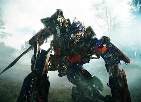 Optimus Prime in a scene from ''Transformers: Revenge of the Fallen''. REUTERS/DreamWorks/Paramount Pictures