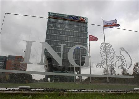 The exterior of the ING group building is seen in Amsterdam November 7, 2012. REUTERS/Michael Kooren