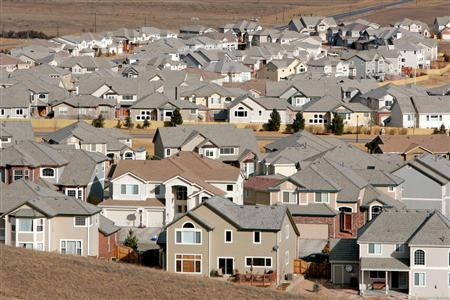 A view of a neighborhood outside Denver in a 2006 file photo. REUTERS/Rick Wilking