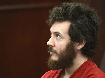 Accused Aurora theater shooting suspect James Holmes listens at his arraignment in Centennial, Colorado March 12, 2013. REUTERS/R.J. Sangosti/Pool/Files