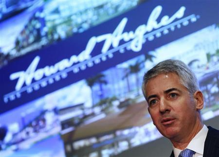 William Ackman, chief executive and portfolio manager of Pershing Square Management, speaks during the Harbor Investment Conference in New York February 13, 2013. REUTERS/Shannon Stapleton