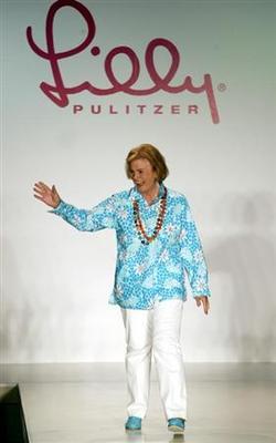Fashion designer Lily Pulitzer dies in Florida -...