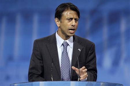 Louisiana Governor Bobby Jindal (R-LA) speaks to the Conservative Political Action Conference (CPAC) in National Harbor, Maryland, March 15, 2013. REUTERS/Jonathan Ernst