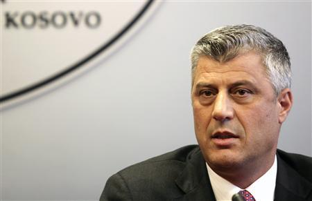 Kosovo's Prime Minister Hashim Thaci is pictured during a news conference in Pristina September 10, 2012. REUTERS/Hazir Reka