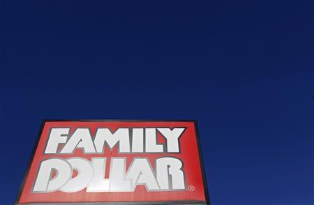 A Family Dollar store is seen in Chicago in this file photo taken June 25, 2012. Family Dollar Stores Inc reported a weaker-than-expected quarterly profit on Wednesday, blaming a delay in tax refunds for hurting sales at the end of January and early February. REUTERS/Jim Young/Files