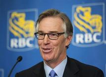Royal Bank of Canada (RBC) President and CEO Gordon Nixon speaks at a news conference after the bank's Annual General Meeting in Calgary, Alberta February 28, 2013. REUTERS/Mike Sturk