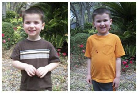 A combination photo shows Chase Hakken (L), and Cole Hakken brothers in Hillsborough County Sheriff's Office photos released on April 9, 2013. REUTERS/Hillsborough County Sheriff's Office/Handout