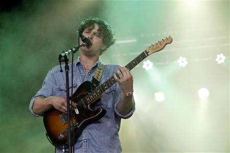 Joe Newman of British band Alt-J performs during the Coachella Music Festival in Indio, California April 12, 2013. REUTERS/Mario Anzuoni