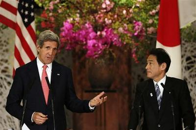 Kerry says U.S. ready to ''reach out'' to North Korea