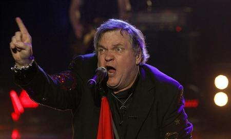 U.S. singer Meat Loaf performs during the German game show ''Wetten Dass'' (Bet it...?) in the southern German town of Friedrichshafen December 3, 2011. REUTERS/Arnd Wiegmann