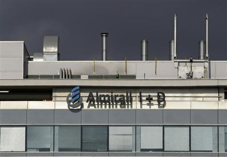 Spanish pharmaceutical company Almirall's Research Centre is pictured in Sant Feliu de Llobregat near Barcelona September 3, 2008. REUTERS/Gustau Nacarino