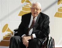 Lifetime achievement award recipient George Beverly Shea attends the Recording Academy Special Merit Awards Ceremony in Los Angeles February 12, 2011. REUTERS/Phil McCarten