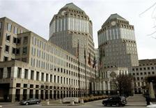Procter & Gamble's corporate headquarters is seen in Cincinnati, Ohio, January 28, 2005. - RTXN7IU