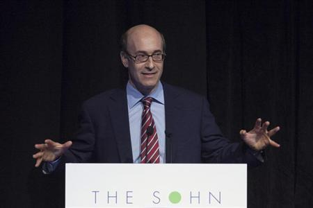 Harvard Professor and Economist Kenneth Rogoff speaks during the Sohn Investment Conference in New York, May 16, 2012. REUTERS/Eduardo Munoz/Files