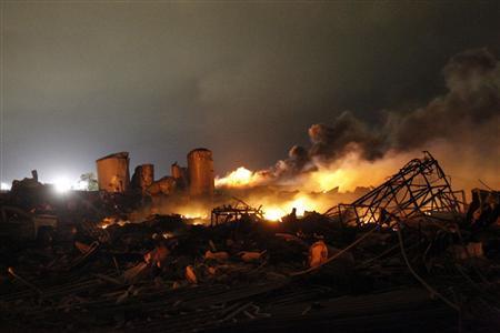 deadly explosion fertilizer plant in texas april 17 2013