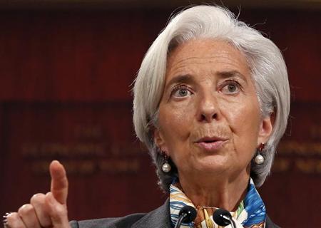 International Monetary Fund (IMF) Managing Director Christine Lagarde speaks to the Economic Club of New York in New York, April 10, 2013. REUTERS/Brendan McDermid