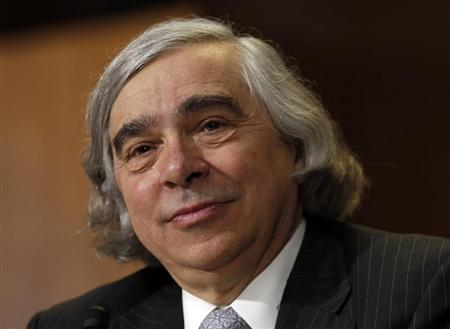Ernest Moniz testifies before a Senate Energy & Natural Resources Committee hearing on his nomination to be energy secretary on Capitol Hill in Washington April 9, 2013. REUTERS/Kevin Lamarque