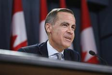 Bank of Canada Governor Mark Carney speaks during a news conference upon the release of the Monetary Policy Report in Ottawa April 17, 2013. REUTERS/Chris Wattie