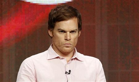 Cast member Michael C. Hall attends a panel for ''Dexter'' during the Showtime television portion of the Television Critics Association Summer press tour in Beverly Hills, California July 30, 2012. REUTERS/Mario Anzuoni
