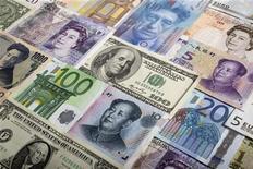 Les pays du G20 réunis à Washington doivent débattre ce vendredi de deux questions délicates: les objectifs précis de réduction des dettes publiques et les risques potentiels liés aux politiques monétaires des grandes banques centrales, qui préoccupent les Etats émergents. /Photo d'archives/REUTERS/Kacper Pempel