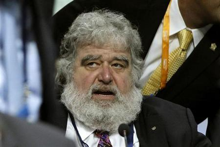 FIFA executive member Chuck Blazer attends the 61st FIFA congress at the Hallenstadion in Zurich June 1, 2011. REUTERS/Arnd Wiegmann/Files