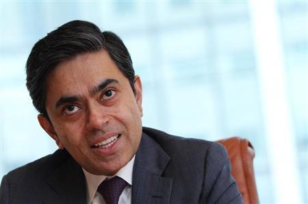 Nomura Global Head of Foreign Exchange, Jai Rajpal, speaks during the Reuters Global FX Summit in London April 22, 2013. REUTERS/Benjamin Beavan