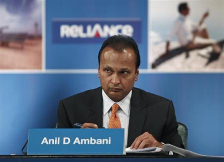 Anil Ambani, Chairman of the Reliance Anil Dhirubhai Ambani Group, attends the annual general meeting of Reliance Communication in Mumbai September 4, 2012. REUTERS/Danish Siddiqui