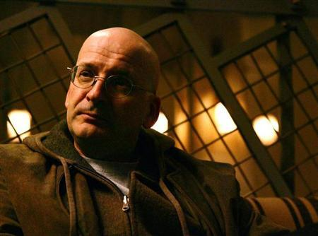 Writer Roddy Doyle, Author of ''Oh, Play That Thing'' photographed at the Soho Grand Hotel in Manhattan, November 8, 2004. REUTERS/Mike Segar/Files