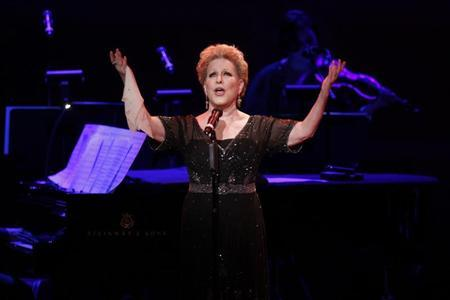 Singer Bette Midler performs during the ''James Taylor at Carnegie Hall'' gala celebrating 120 years of music at Carnegie Hall in New York April 12, 2011. REUTERS/Lucas Jackson