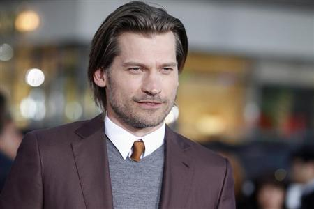Actor Nikolaj Coster-Waldau from the HBO series ''Game of Thrones'' arrives as a guest at the premiere of the new film ''Oblivion'' in Hollywood, California April 10, 2013. REUTERS/Fred Prouser