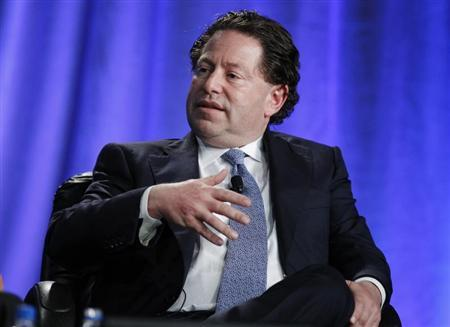 Robert Kotick, President and CEO of Activision Blizzard, takes part in a panel discussion titled ''The Entertainment Industry: A Billion Ideas in Search of an Audience'' at the Milken Institute Global Conference in Beverly Hills, California May 2, 2012. REUTERS/Danny Moloshok