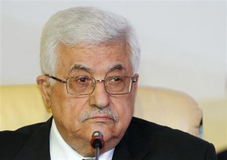 Palestinian President Mahmoud Abbas attends the opening of the International Conference on Jerusalem in Doha February 26, 2012. REUTERS/Mohammed Dabbous