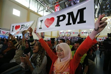 Rise of young voters shifts Malaysia election balance