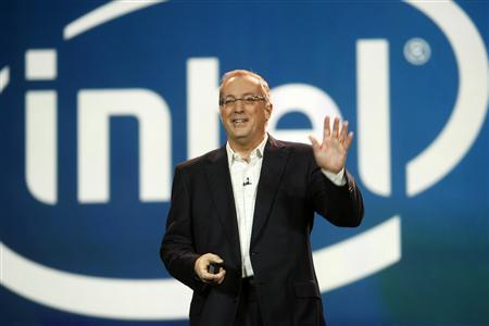 Paul Otellini, president and CEO of Intel Corporation, arrives to give a keynote address during the 2012 International Consumer Electronics Show (CES) in Las Vegas, Nevada January 10, 2012. REUTERS/Steve Marcus