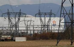 EDF publie un chiffre d'affaires en croissance organique de 4,7% au premier trimestre, notamment dopé par la vague de froid qui a traversé la France en début d'année. /Photo d'archives/REUTERS/Vincent Kessler