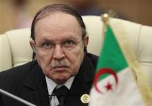 الرئيس الجزائري عبد العزيز بوتفليقة - ارشيف رويترز
