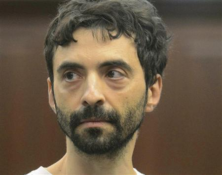 Former Goldman Sachs computer programmer Sergey Aleynikov appears at Manhattan Criminal Court in New York, in this August 9, 2012 file photo. REUTERS/Steven Hirsch/Pool/Files