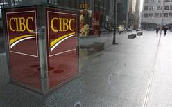 A Canadian Imperial Bank of Commerce (CIBC) branch is seen in Toronto November 9, 2007. REUTERS/Mark Blinch