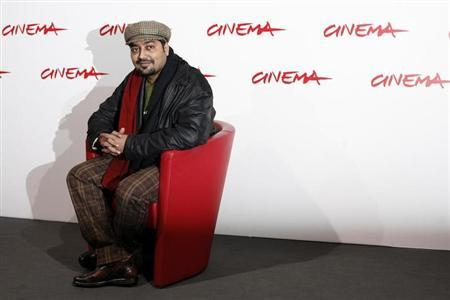Anurag Kashyap poses during a photo call to present his latest movie ''No Smoking'' at the Rome International Film Festival October 24, 2007. REUTERS/Dario Pignatelli/Files