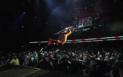 Wrestling for Cinco de Mayo