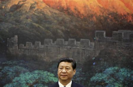 5月8日、中国の地方政府が公的資金を使って民間企業の債務を事実上、肩代わりしていたことが判明したことで、地方政府の債務に関する推定値が正確なのか、あらためて疑問視されている。写真は習近平国家主席(2013年 ロイター)