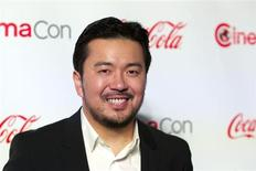 Director Justin Lin, recipient of the Director of the Year Award, arrives at the CinemaCon awards ceremony at Caesars Palace in Las Vegas, Nevada April 18, 2013. REUTERS/Steve Marcus