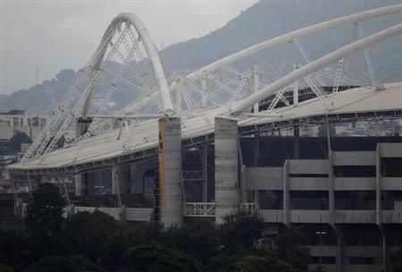 The Joao Havelange stadium is pictured in Rio de Janeiro March 27, 2013. REUTERS/Ricardo Moraes