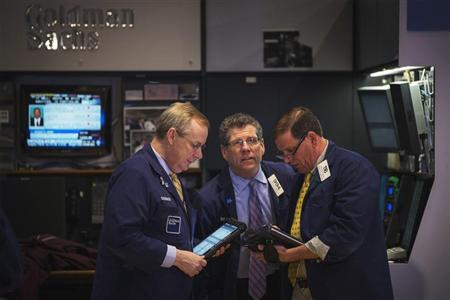 Traders work on the floor of the New York Stock Exchange, May 9, 2013. REUTERS/Lucas Jackson