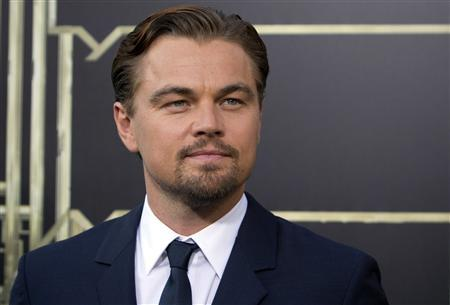 Actor Leonardo DiCaprio attends the ''The Great Gatsby'' world premiere at Avery Fisher Hall at Lincoln Center for the Performing Arts in New York in this May 1, 2013 file photo. REUTERS/Andrew Kelly/Files