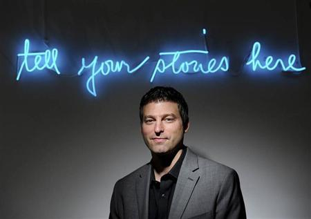 Adam Bain, Twitter's president of global revenue, stands in a conference room at his company's San Francisco, California headquarters July 25, 2012. REUTERS/Noah Berger