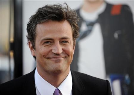 Cast member Matthew Perry attends the premiere of the film ''17 Again'' in Los Angeles April 14, 2009. REUTERS/Phil McCarten