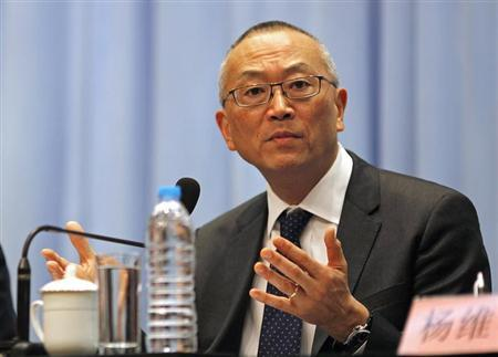 Keiji Fukuda, assistant director-general for Health Security and Environment of World Health Organization (WHO), answers a question from the media during a news conference in Shanghai April 22, 2013. REUTERS/Carlos Barria