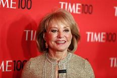 Journalist Barbara Walters arrives for the Time 100 gala celebrating the magazine's naming of the 100 most influential people in the world for the past year, in New York, April 23, 2013. REUTERS/Lucas Jackson