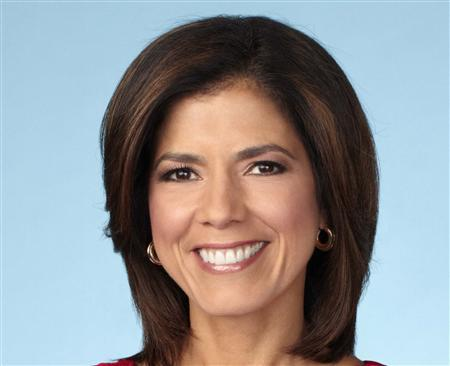 CNN co-anchor Zoraida Sambolin is shown in this undated handout photo courtesy of Turner Broadcasting Systems Inc., provided to Reuters on May 14, 2013. Turner Broadcasting Systems Inc/Handout via Reuters